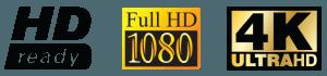 hd, full hd, 4k