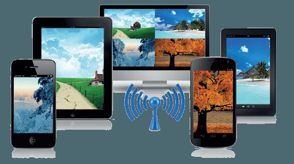 wireless da qualunque dispositivo